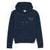 Low Tide Hoodie - Navy - Wittering Surf Shop