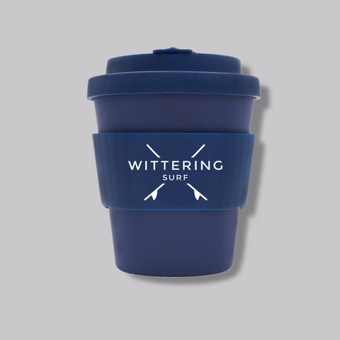Wittering Surf Reusable Takeaway Cup - Navy
