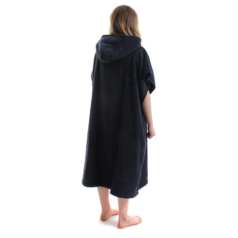 Wittering Surf Hooded Change Robe - Navy