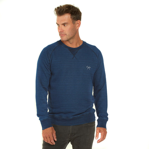 Men's Snapper Crew – Indigo - Wittering Surf Shop