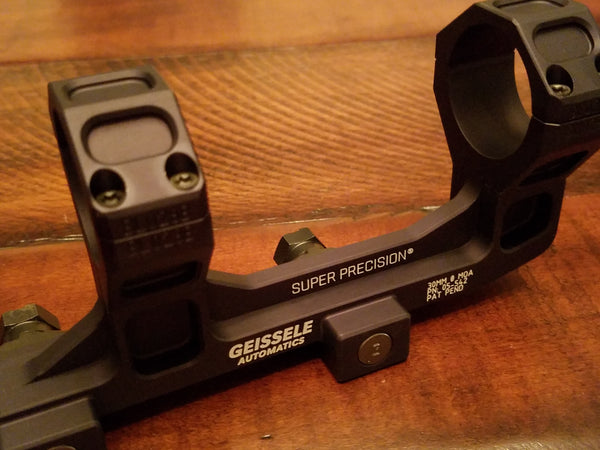 "Geissele Super Precision Scope Mount - 30mm 1.93"" SOPMOD Certified (Black)"