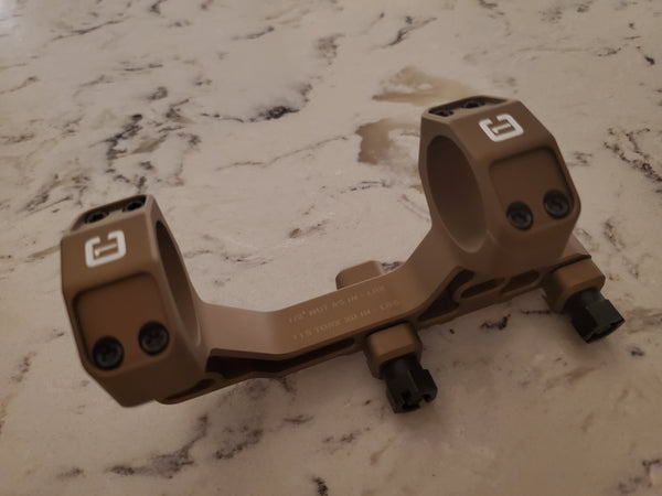 "Badger Ordnance Condition One Modular Mount - 30MM 1.93"" (Assaulter Height) Tan"
