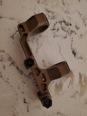 "Badger Ordnance Condition One Modular Mount - 30MM 1.70"" (Lower 1/3rd Height) Tan"
