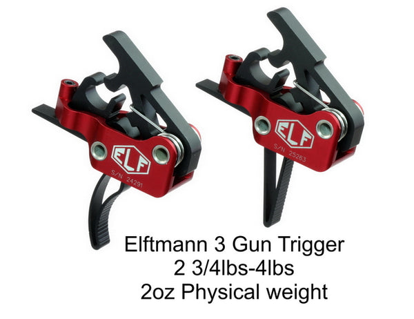 "Elftmann - 3G Drop-In Trigger (Straight Trigger - Standard Pin .154"")"