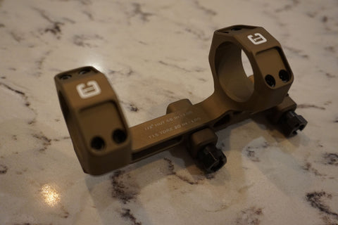 "Badger Ordnance Condition One Modular Mount - 34MM 1.54"" (NV Height) Tan"