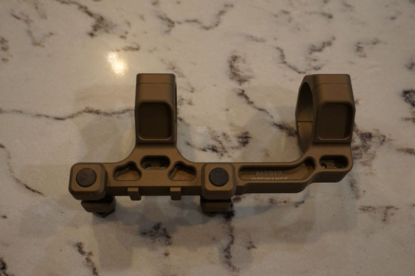 "Badger Ordnance Condition One Modular Mount - 34MM 1.70"" (Lower 1/3RD Height) Tan"