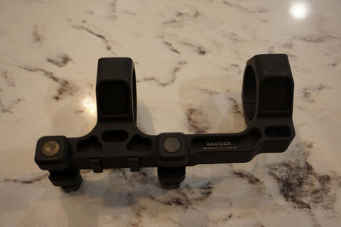 "Badger Ordnance Condition One Modular Mount - 34MM 1.70"" (Lower 1/3RD Height) Black"