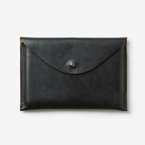 Leather Trays - Black