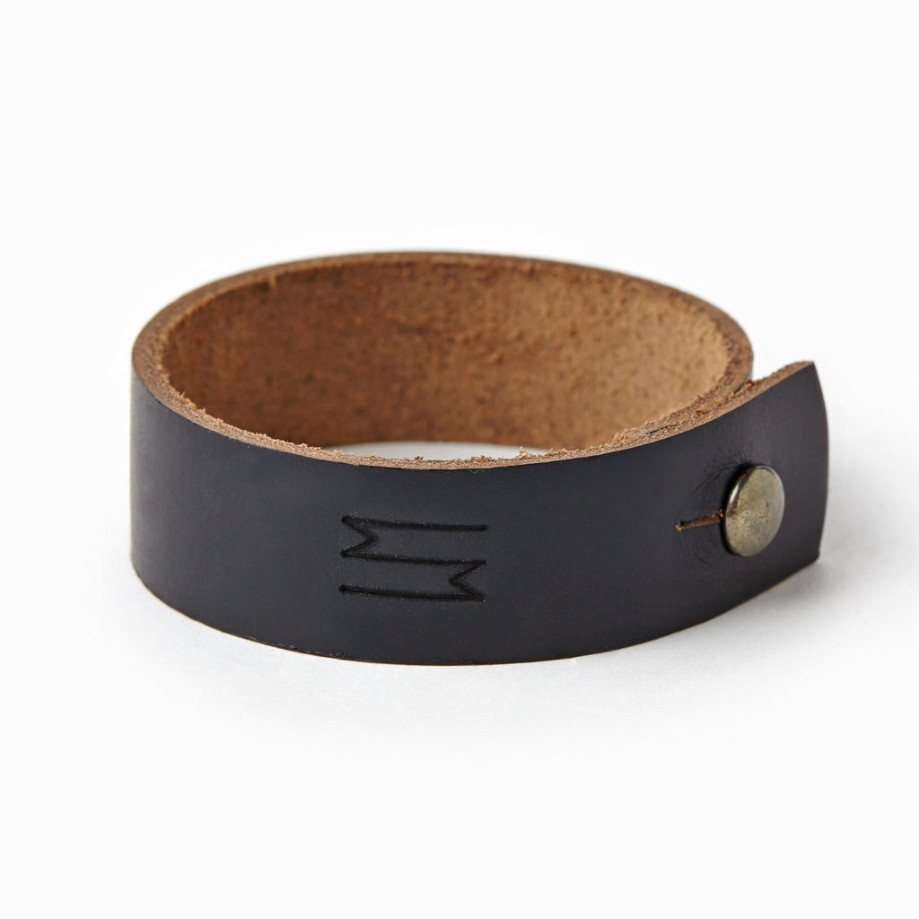 Leather Cuff - Single - Waltzing Matilda USA
