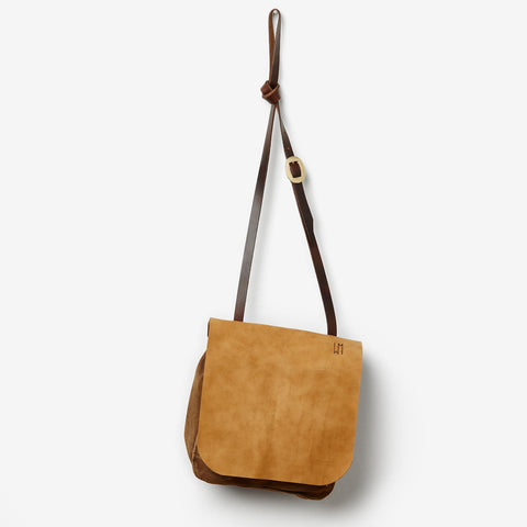 Bread Bag - Canvas and Leather