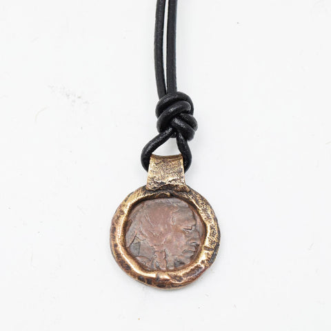 Aqil's Buffalo Nickel Pendant