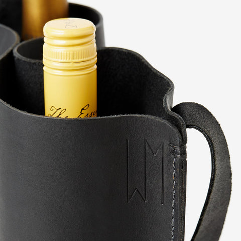 BYOB Double Wine Bag - Black