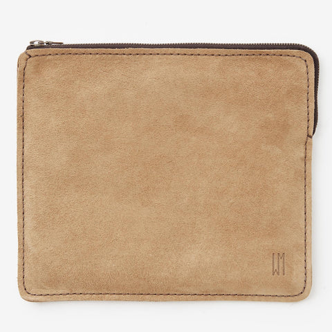 East/West IPad Pouch - Suede