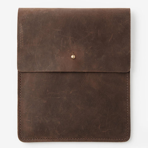 Ipad Sleeve with Collar Button