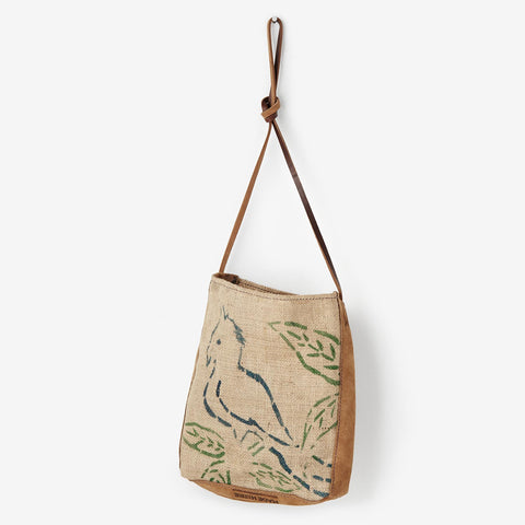 Coffee Bag Crossbody - Natural