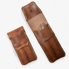 Leather Cigar Holder with Flap