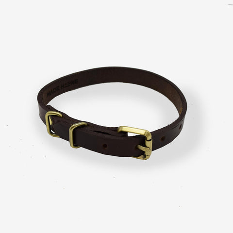 Leather Dog Collar - Monogrammed