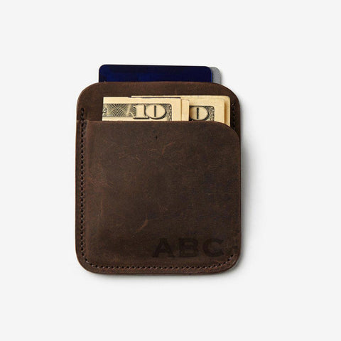 Sutton Wallet - Monogrammed