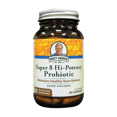 Udo's Choice Super 8 Hi-Potency Probiotic (30caps)| Udo's Choice Super 8 強效益生菌 (30粒)