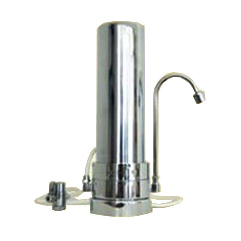 EM Crystal (AquaAvanti) - Water Filter System Countertop Unit in Stainless Steel