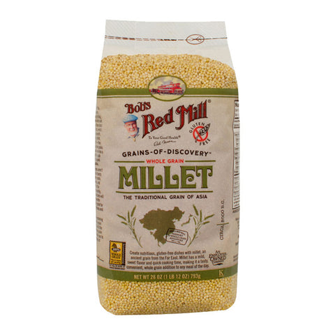 Bob's Red Mill Hulled Millet (793g)| Bob's Red Mill去殼小米 (793克)