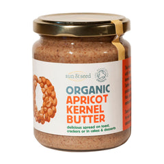 Sun & Seed Organic Raw Apricot Kernel Butter (250g)|  Sun & Seed 有機生南杏醬 (250克)