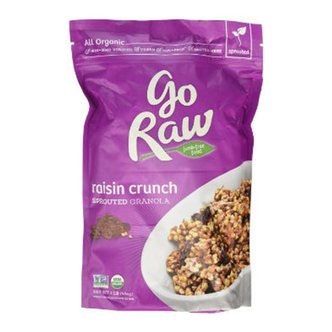 Go Raw Granola - Raisin Crunch (454g)| Go Raw 燕麥 - 葡萄乾原味 (454克)