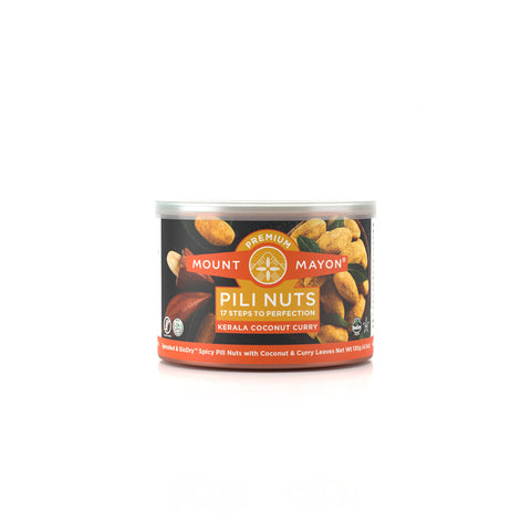 Mount Mayon Kerala Coconut Curry Premium Pili Nuts 130g
