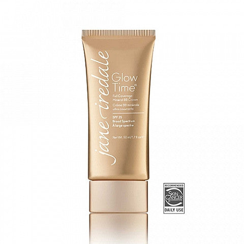 Jane Iredale Glow Time FULL COVERAGE Mineral BB Cream SPF25| Jane Iredale BB粉底霜 SPF25