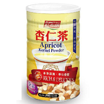 Home Brown Apricot Kernel Powder - 500g (No added sugar)| 紅布朗 杏仁茶 - 500g (無添加糖份)