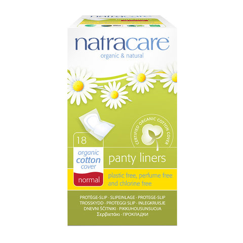 Natracare Panty Liners (15cm Normal, 18 pads)|Natracare 有機棉衛生護墊 (15cm標準型, 18片獨立包裝)