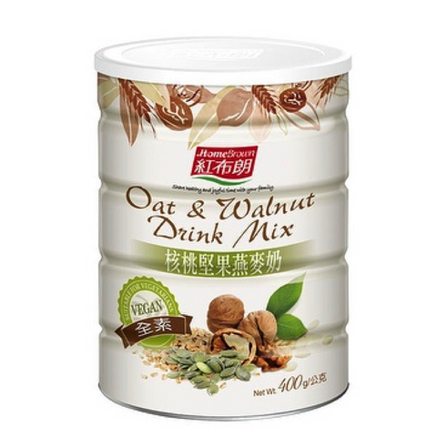 Home Brown Oat & Walnut Drink Mix - Nuts Mixed (400g)|紅布朗 核桃堅果燕麥奶 (400g)