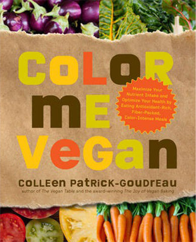 BOOK : Color Me Vegan (Softcover)