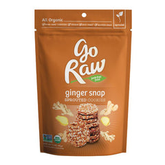 Go Raw Sprouted Cookies - Ginger Snap (85g)| Go Raw 生薑超級曲奇 (85克)