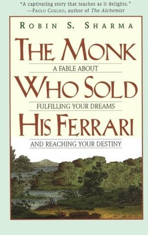 BOOK : The Monk Who Sold His Ferrari