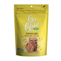 Go Raw Sprouted Cookies - Lemon Pie (85g) | Go Raw 檸檬味超級曲奇 (85克)