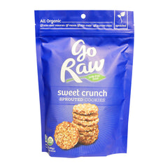 Go Raw Sprouted Cookies - Sweet Crunch (85g)| Go Raw 超級曲奇 - 原味 (85克)