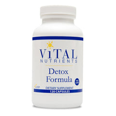 Vital Nutrients Detox Formula (120caps)| Vital Nutrients 排毒配方 (120粒)