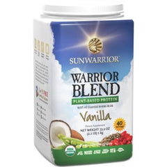 Sunwarrior Warrior Blend - Vanilla (1kg)|Sunwarrior 混合蛋白粉 - 雲呢拿味 (1公斤)