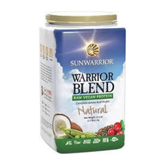 Sunwarrior Warrior Blend - Natural (1kg)|Sunwarrior 混合蛋白粉 - 原味 (1公斤)