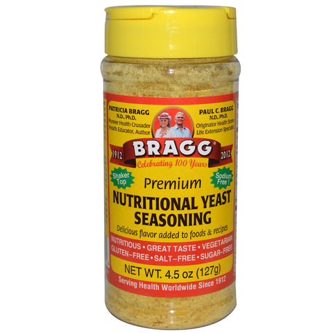 Bragg Premium Nutritional Yeast Seasoning 4.5 oz (127 g)