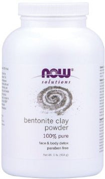 Now Solutions - Bentonite Clay Powder (1lb, 454g)|Now Solutions 膨潤土粉 (454克)