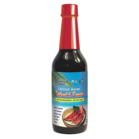 Coconut Secret Coconut Aminos Teriyaki Sauces (296ml)