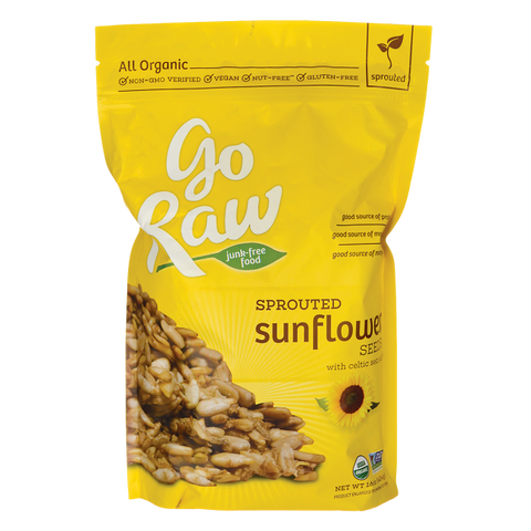 Go Raw Seeds - Sprouted Sun Flower Seeds (454g)| Go Raw 太陽花籽 (454克)