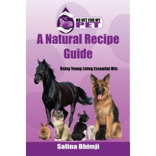 BOOK : No Vet For My Pet - A Natural Recipe Guide
