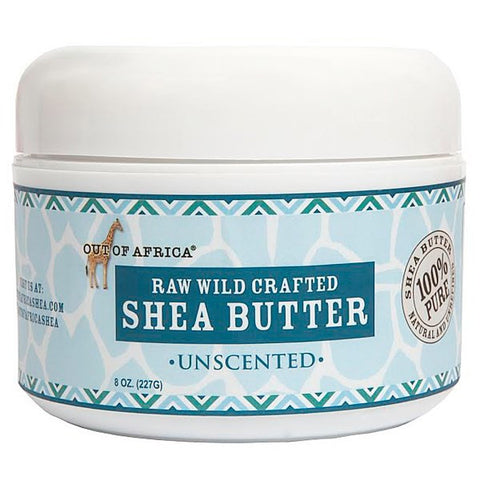 Out of Africa, Raw Wild Crafted Shea Butter - Unscented, 8oz (227g) | Out Of Africa, 生乳木果油 - 無味 (227克)
