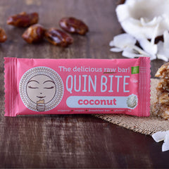 Quin Bite Raw Bar - Coconut (30g) | QUIN BITE 能量棒 - 椰子 (30克)