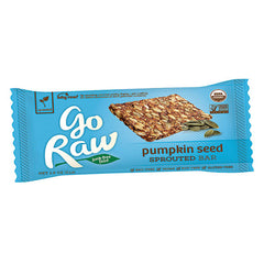 Go Raw Live Pumpkin Seed Bar (13g)| Go Raw 能量棒 - 南瓜籽亞麻籽 (13克)