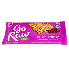 Go Raw Raisin Crunch Bar (14g)|Go Raw 能量棒 - 葡萄乾亞麻籽 (14克)