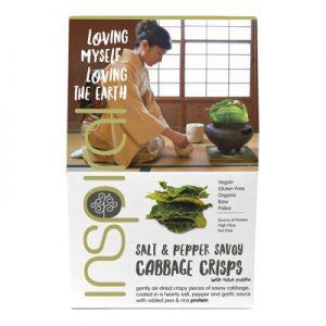 Inspiral Salt and Pepper Savoy Cabbage Crisps | Inspiral 和風海鹽和胡椒棷菜片
